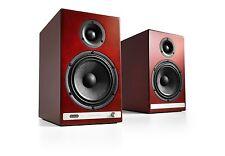 Audioengine HD6 Premium Powered Speakers Bluetooth, DAC Cherry NEW Free Shipping