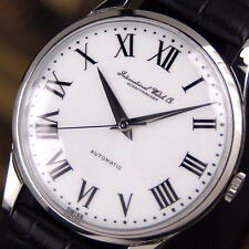 Authentic IWC Schaffhausen White Dial Stainless Steel Automatic Mens Watch