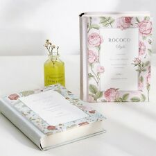 """Miss Rococo"" 1pc Hard Cover Diary Cute Flower Planner Blank Paper Notebook Memo"