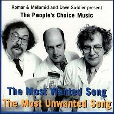 Peoples Choice Most Wanted Song CD Komar & Melamid Dave Soldier Vernon Reid tuba