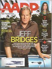 AARP The Magazine August September 2014 Jeff Bridges/Cher/Sugar Ray Leonard
