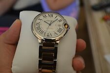 Cartier Ballon Bleu 42mm Wrist Watch Unisex W69009Z