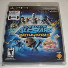 PS3 Playstation All-stars Battle Royale game Factory Sealed brand new