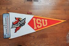 "Iowa State Cyclones large 41"" wool 2-piece sewn PENNANT by Winning Streak - New"