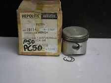 HONDA PC50 PF50DXR P50 PISTON & RINGS +1.0mm NOS (081) JAPAN P50 1201.026