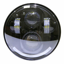 """5.75"""" LED Projector Headlight Daymaker Fr Harley Wide Glide Dyna FXDWG/Low Rider"""