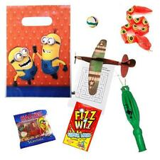 Boys Pre Filled Minions Party Bags Children Ready Made Minion Loot Goody Bag