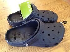 Crocs Original Ralen Adult Clogs Unisex Slip On Sandal Size 7 UK In Navy.BNWT