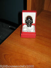 Biker Ring Skull Rider MC Club Bad A$$ Jaw Skull Size 10 Motorcycle 43.4 Grams !