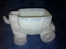 VINTAGE L.E. SMITH MILK GLASS CINDERELLA'S CARRIAGE/ROYAL COACH REPLACEMENT BASE