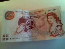 Isle of Man  £20.. bank note