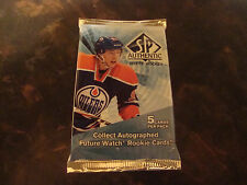 2011-12 Upper Deck SP Authentic Hockey---Hobby Pack---5 Cards/Pack