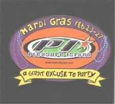 Pleasure Island MARDI GRAS 2001 A GREAT EXCUSE TO PARTY LE 500 DISNEY PIN 4092
