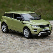 """Land Rover Aurora 5"""" Toys Alloy Diecast Model Cars Two doors can open Gift Green"""