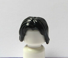 Lego 1 Hair Wig For Male Boy Man Minifigure Shoulder Length Black
