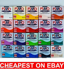 Staedtler Fimo SOft Oven Bake Modelling Clay 12 x 57g Big Blocks Arts Crafts