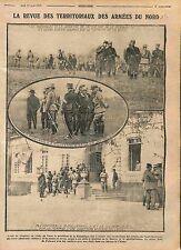 Général Dubois Président Poincaré Alexandre Millerand Château de Aisne WWI 1915