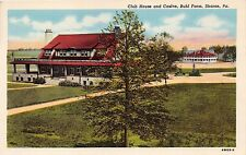 SHARON PA BUHL FARM~CLUB HOUSE~CASINO & SWIMMING POOL~LOT OF 2 POSTCARDS 1920s