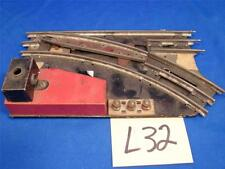 L32 VINTAGE MARX O SCALE TRAIN SWITCHES RIGHT TURN