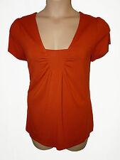 2 Pack BNWT size 20 M&S Marks & Spencer Ladies Smart TOP - Orange , Apple