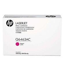 originale HP Toner Q6463AC Q6463A per 4730 Magenta Nuovo