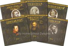 New FAMOUS EXPLORERS OF THE AMERICAN WEST Series SET of 6 History Biography HC