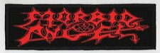 MORBID ANGEL SUPERSTRIP PATCH / SPEED-THRASH-BLACK-DEATH METAL