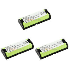 3 Cordless Phone Battery 450mAh NiCd for Panasonic HHR-P105 HHR-P105A TYPE 31