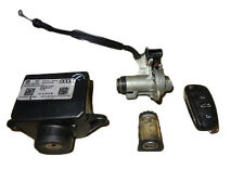 *AUDI A6 C6 SALOON 2005-2011 IGNITION STARTER SWITCH LOCK SET 4F0909131D