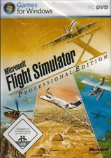 Microsoft FLIGHT SIMULATOR X PROFESSIONAL DELUXE EDITION Sehr guter Zustand