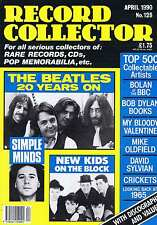 BEATLES / SIMPLE MINDS / NEW KIDS ON THE BLOCK Record Collector no. 128 Apr 1990