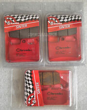 YAMAHA YZF R1 1000 2004   2006 BREMBO SINTERED FRONT / REAR BRAKE PADS KIT