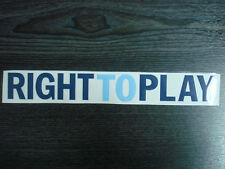 NEW RIGHT TO PLAY for UCL Chelsea Away 2012-13 Jersey PU