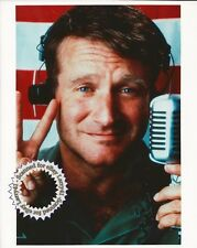 Oscar nominee Robin Williams still GOOD MORNING, VIETNAM (1987) Color! Mint 8x10