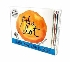 The Dot: Make Your Mark Kit by Peter H. Reynolds (2013, Picture Book)