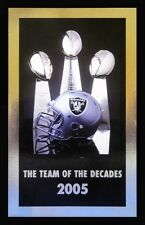 2005 Oakland Raiders - The Team of the Decades Media Guide - 304 Pages