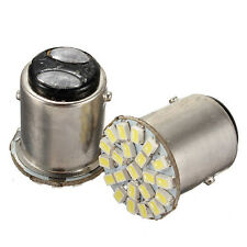 2pcs Dual Contact 1157 BAY15D White 22 LED Car Auto Brake Light Bulb Lamp 12V