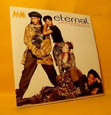 Cardsleeve Single CD Eternal Just A Step From Heaven 2TR 1994 Hip Hop Neo Soul