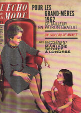 echo de la mode N°5 henri troyat 1962