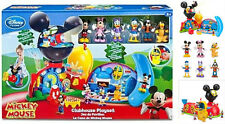 DISNEY STORE Mickey Mouse Clubhouse Deluxe Play Set w/ Figure Doll Lights Sounds