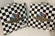 Indianapolis Motor Speedway Black-White Checker Seat Cushion-Indy 500-Brickyard