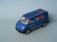 Matchbox Ford Transit Van Blue Police Swat Team Rare Toy Model Car 70mm