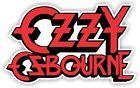 Ozzy Osbourne - Vinyl Sticker Decal - logo full color indoor/outdoor