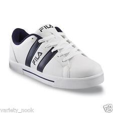 Fila Men's White/Blue Sneaker - Boca 6 - US Size 10.5 Medium Width