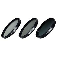 37mm UV CPL ND8 3 Piece Multi Coated Filter Kit for Canon HF11 HF10 HF100