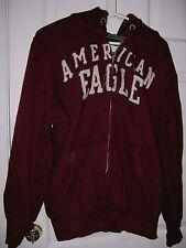 American Eagle hoodie jacket w zipper Men's size Large Maroon