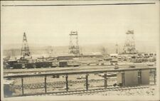 Panama Canal Construction c1910 Real Photo Postcard #2 RR SCENE