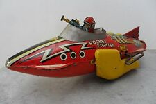 Rare Space Ship Rocket Fighter Flash Gordon by Marx Toys Made in USA 1940's