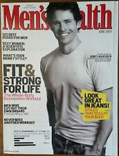 Men's Health Magazine James Marsden June 2007