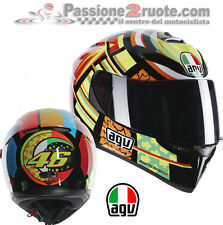 Casco integrale moto Agv K3 Sv Valentino Rossi 46 Elements taglia XL